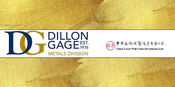 Dillon Gage - China Great Wall Coins Investments, Ltd.