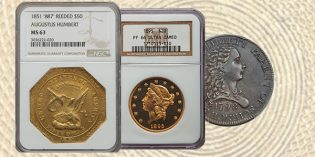 NGC Vintage US Rarities Show Strength in Heritage ANA Sale