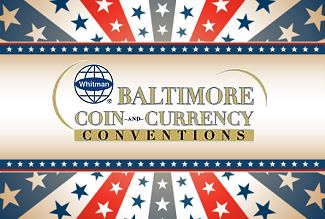 Whitman Expo Coin Show Baltimore