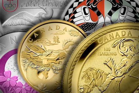 Modern canadian Coins may 1012