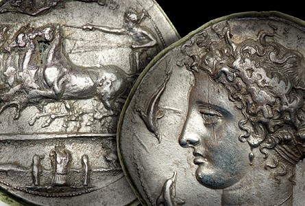 ancient coin collecting - Greek coins