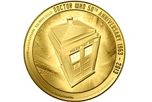 Race against time – Limited Edition Doctor Who gold coin from the New Zealand Mint