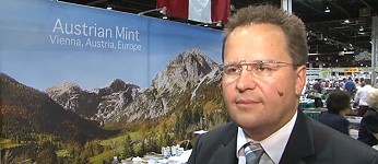 Austrian Mint Director Talks About the Silver Philharmonic Bullion Coin. VIDEO: 1:29