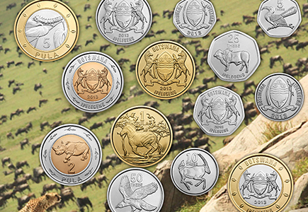 Royal Canadian Mint Produces New Circulation Coins For Botswana