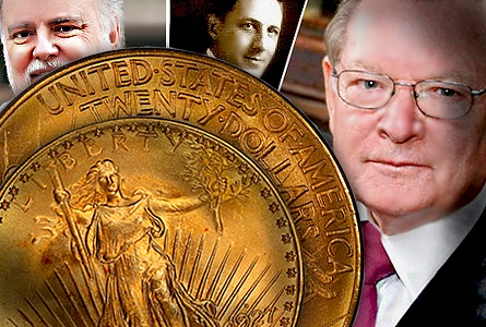 The Rarest 20th Century, Regular U.S. Coins: 1927-D Saint Gaudens Double Eagles ($20 gold pieces)