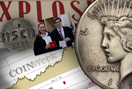 Numismatic Quick Hits: 1922 Peace Dollar Matte Proof + CoinWEEK's New Spot Price Page + CSNS Exhibit Winners