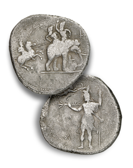 Elephants Ancient Coins