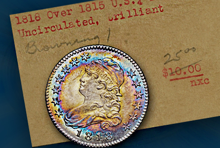 1818 over 1815 Browning-1 from Newman Sale