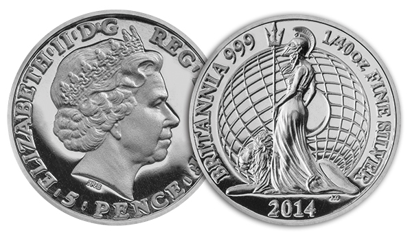 2014_UK_Britannia_1_40o__Silver_Proof_Coin_Obverse