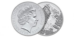 Royal Mint Unveils Limited Edition £100 Silver Coin