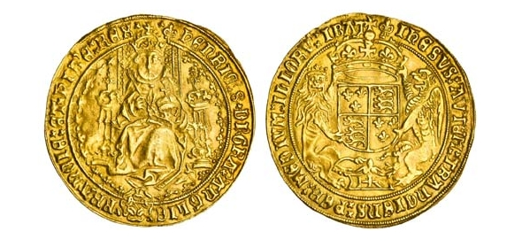 "Henry VIII ""Fat Face"" Sovereign"