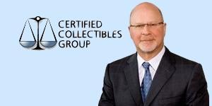 Mark Salzberg Chairman of the Certified Collectibles Group