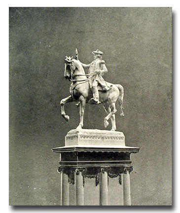 This Statue was the basis of the coin's design.