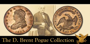 Highlights from the D. Brent Pogue Collection: The Finest Certified Proof 1827 Quarter Dollar From the Joseph J. Mickley Collection