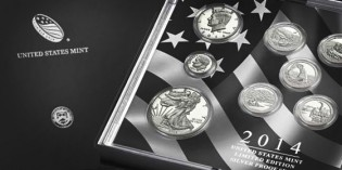 2014 U.S. Mint Limited Edition Silver Proof Set Available March 17