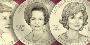 U.S. Mint Announces 2015 First Spouse Gold Coin Designs