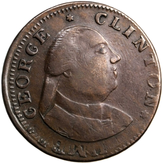 1787 George Clinton Copper