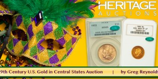 Exceptional 19th Century U.S. Gold Coins in Central States Auction