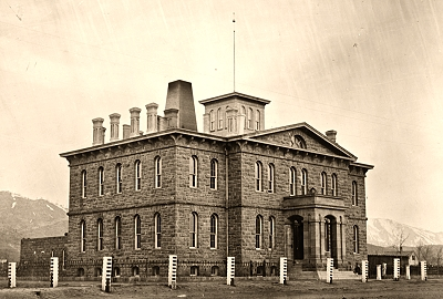 Historic American Buildings Survey Photo of the United States Mint in Carson City, Nevada c. 1879