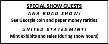 GNA Coin Show Guests