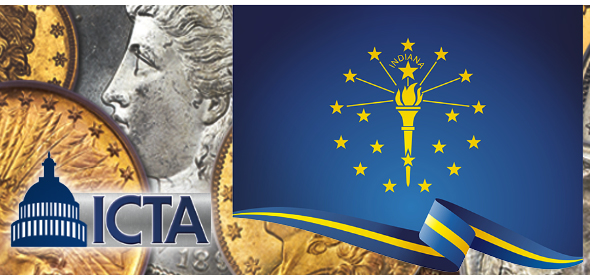 Indiana Bullion, Precious Metal and Rare Coin Sales Tax Exemption Laws and Legislation