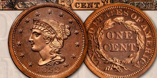 View the Twin Leaf Collection at the Early American Coppers Show