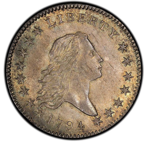 1794 Flowing Hair Half Dollar. Overton-101a. Rarity-3+. MS-64 (PCGS)