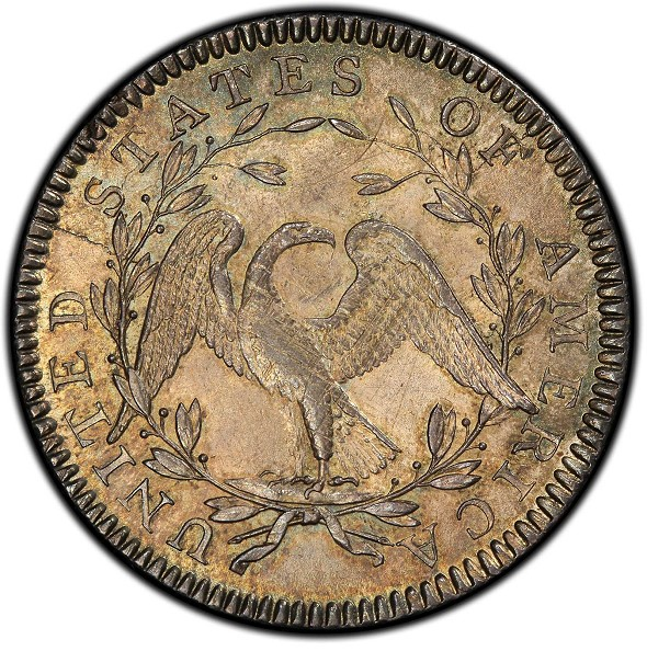 Pogue Family Collection1794 Flowing Hair Half Dollar. Overton-101a. MS-64 (PCGS)