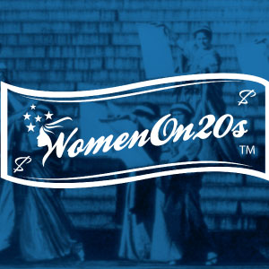 Women on 20s logo