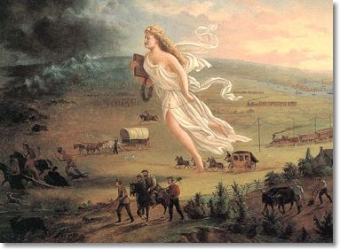 John Gast's 1872 painting American Progress