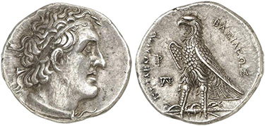 GREEK. PTOLEMAIC KINGS OF EGYPT. Ptolemy I Soter. (Pharaoh, 305/4-282 BC). Struck 305-283 BC. AR Tetradrachm.