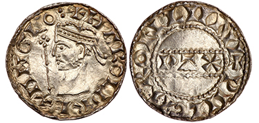 GREAT BRITAIN. England. Harold II. (King, January 6th to October 14th, 1066). 1066 (ND) Moneyer: Wulfur AR Penny.
