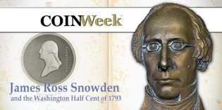 James Ross Snowden and the Washington Half Cent of 1793 – VIDEO 4:11.