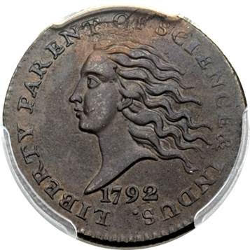 1792 copper disme , Heritage Auctions