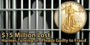 Coin Dealer Tulving Pleads Guilty to Fraud