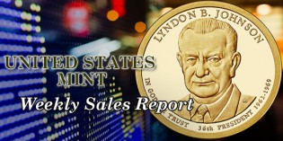 State of the Mint – U.S. Mint Coin Sales as of Jan. 10, 2016