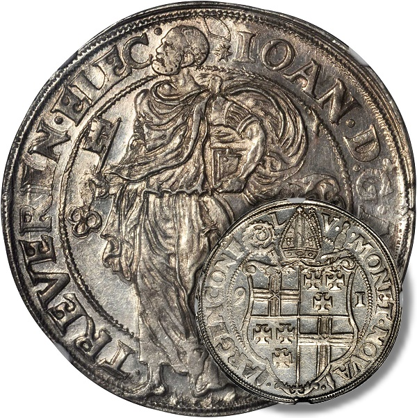 Possibly UNIQUE German Trier Taler of Johann VII
