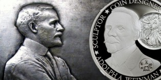MCM Exclusive Adolph A. Weinman Coin Released at 2015 ANA World's Fair of Money