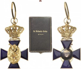 Kingdom of Bavaria. Royal Merit Order of St. Michael, Cross 2nd Class. I.