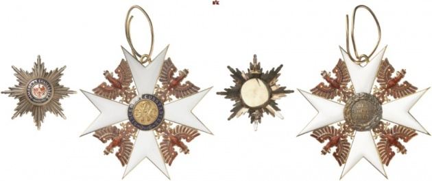 Kingdom of Prussia. Order of the Red Eagle.