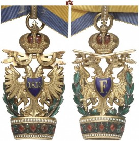 Austria. Austrian-Imperial Order of the Iron Crown. Decoration of the 2nd Class. II.