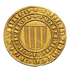 Italy. Kingdom of Sicily. Peter I the Great of Aragon and Constance. Pierreale