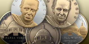 PAN's Official Papal Visit Medal Now Available