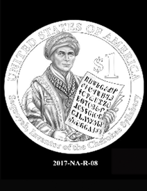 2017 Native American $1 coin, design candidate 8
