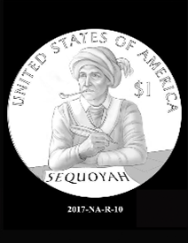2017 Native American $1 coin, design candidate 10