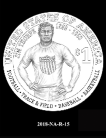 2018 Native American $1 coin, design candidate 15