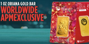 Perth Mint's Oriana Gold Bar in Re-Release: An APMEX Exclusive