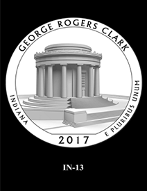 2017 America the Beautiful Quarters George Rogers Clark National Historical Park design candidate 13