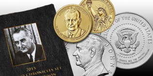 Lyndon B. Johnson Coin & Chronicles Set Available Today (UPDATE: SOLD OUT)