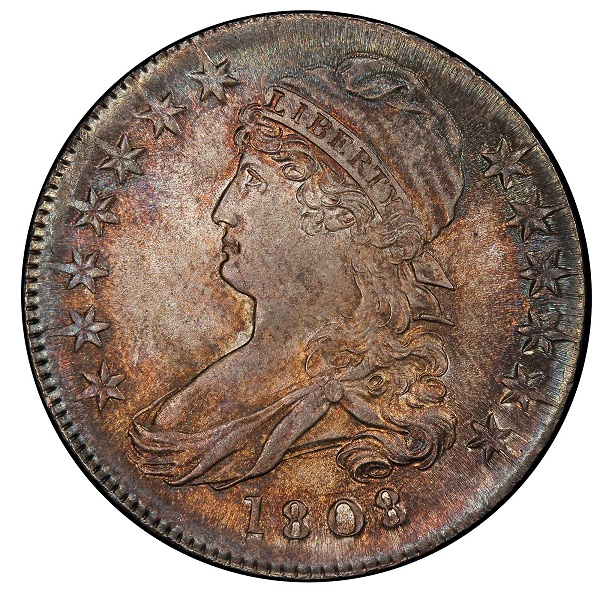 1808 Capped Bust Half Dollar - Knoxville Collection